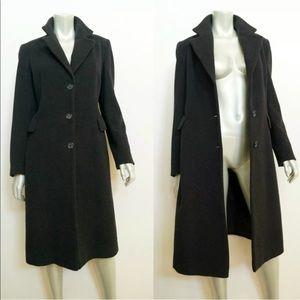 ZARA Woman Wool Coat Size 8 Below Knee